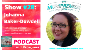 Johanna interviewed for The Mumpreneur Show
