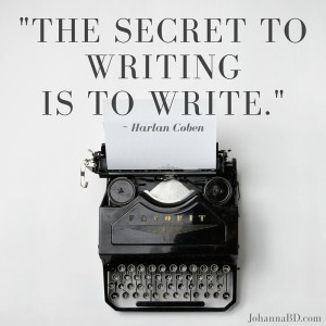 Want to know the secret to writing?